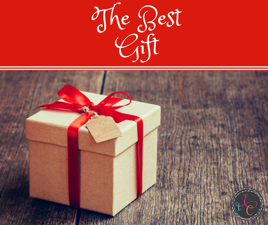 I didn't know that the most priceless gift I would ever receive would be the act of giving away something that had been the desire of my heart.