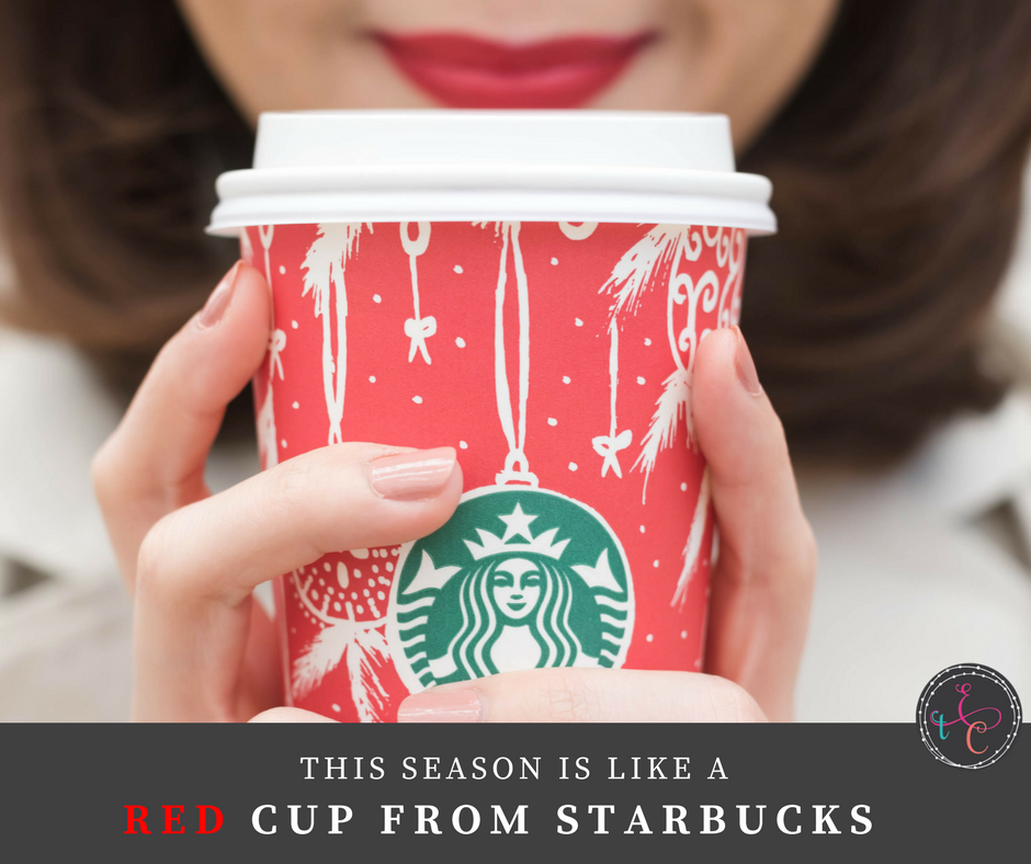 This season is like the red cup from Starbucks…