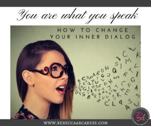 "What do your thoughts ""speak"" to you about who you are? Does your inner dialogue create roadblocks for your journey? What does your inner voice echo in your ear?"