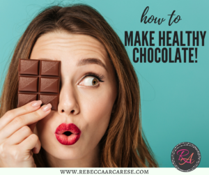 For the last two years I have been hooked on their fitness chocolate! It is amazing. You can find the full recipe here. There are some other great recipes as well as explanation on the fitness chocolate benefits.
